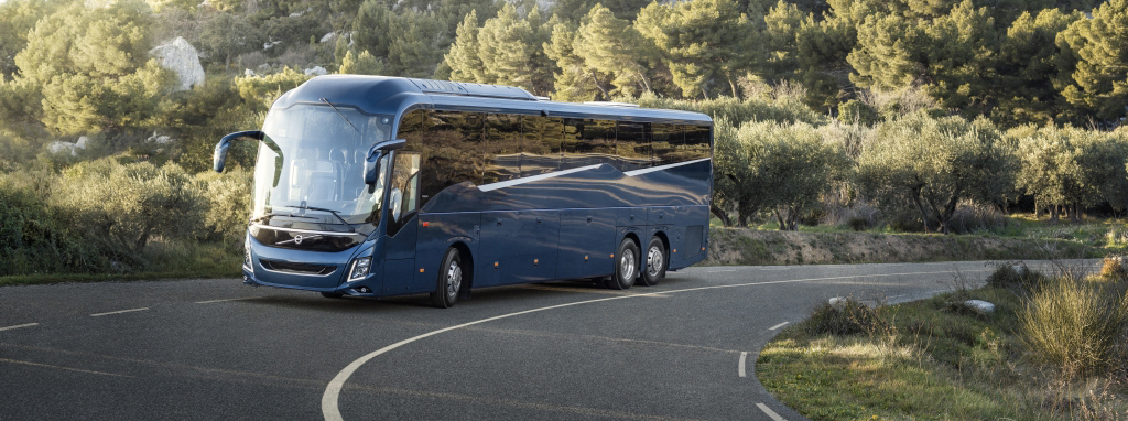 volvo Bus rental for outstation trip, corporate rental of volvo vehicle